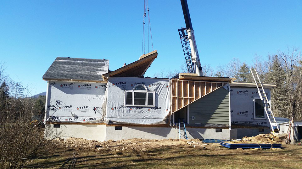 Full home remodel roofing siding