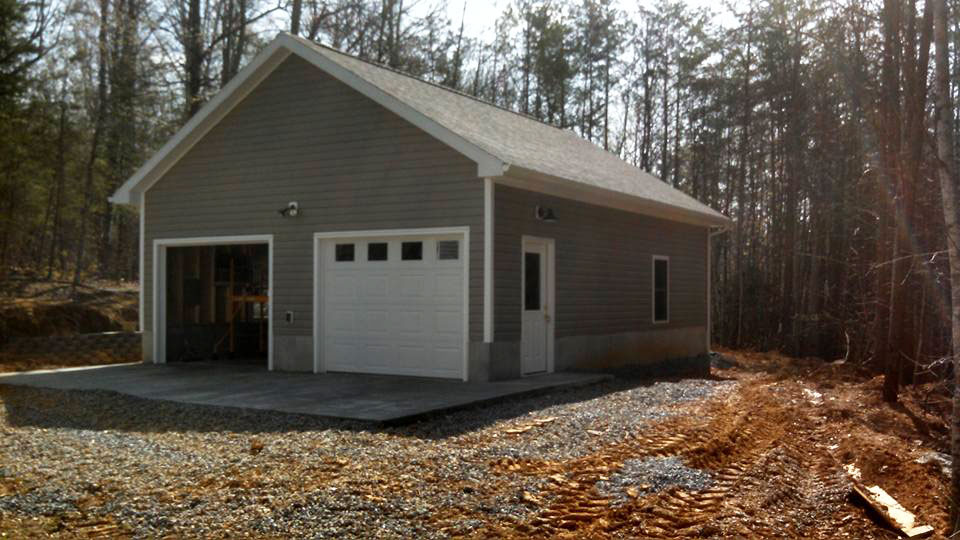 MP2 garage addition outside door